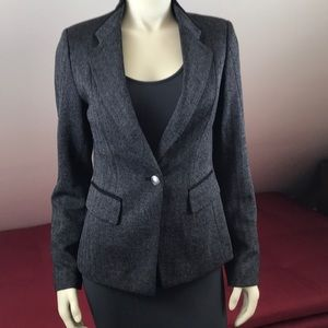 White House Black Market Tailored Blazer Jacket 4